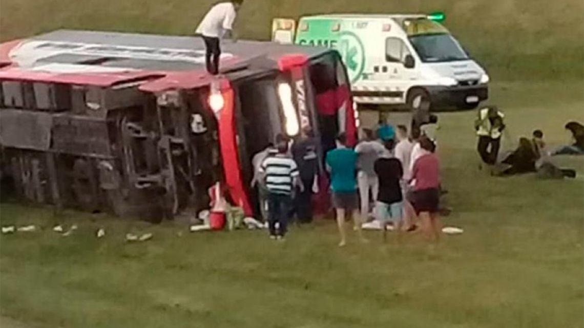 Accidente en Ruta 2 | Foto:Cedoc