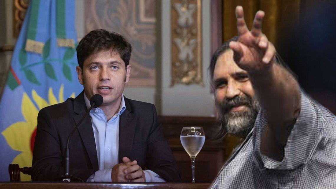 Axel Kicillof y Roberto Baradel | Foto:cedoc