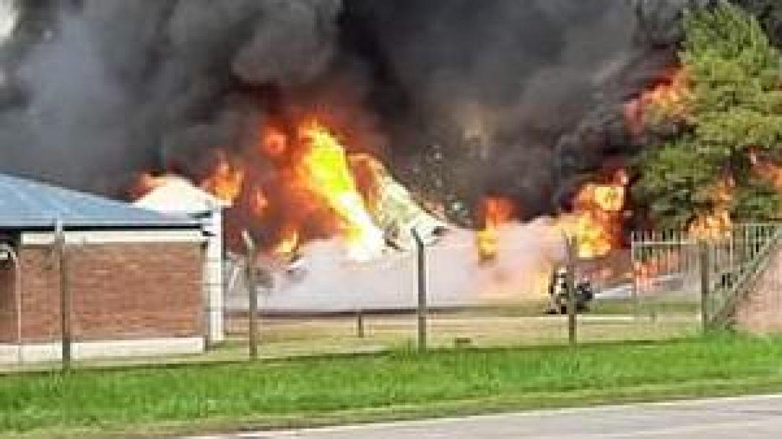 Incendio en Santa Fe | Foto:Cedoc