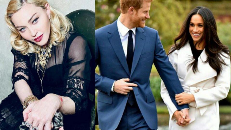 La inesperada propuesta de Madonna para Meghan Markle y el príncipe Harry