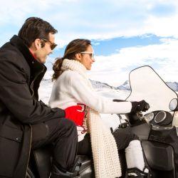 Snowmobile riding (moto de nieve) es una de las actividades fuera del ski que están incluidas en la oferta de Club Med.