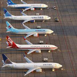 Aviones en el aeropuerto. | Foto:Cedoc