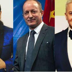 Ariel Pucheta, Martín Insaurralde y Flavio Mendoza