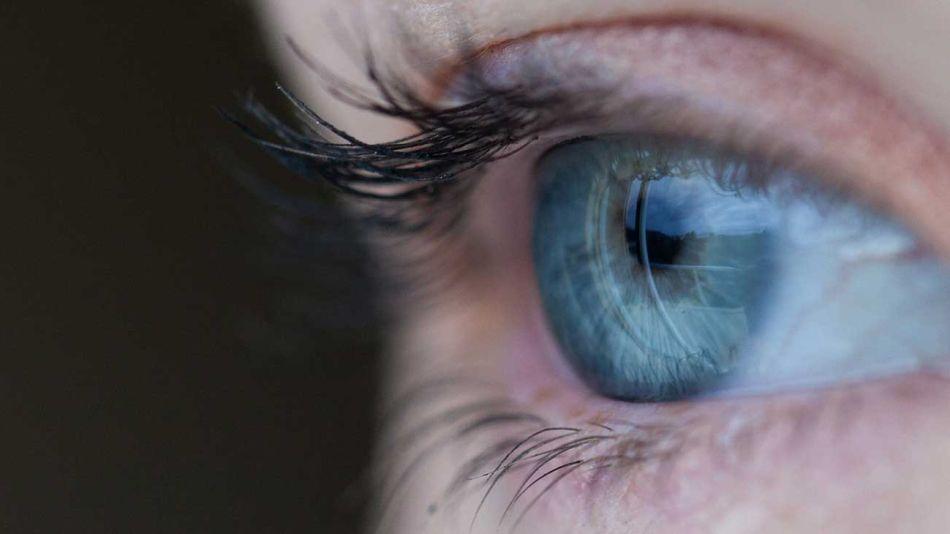 Ojos mirada salud ocular