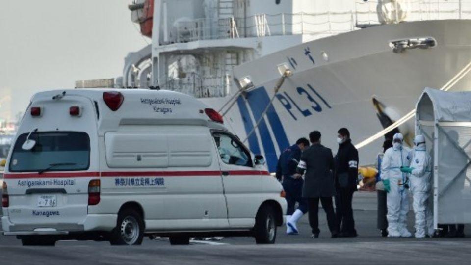 El crucero Diamond Princess zarpó de Yokohama el 20 de enero pasado y pasó por los puertos de Kagoshima y Okinawa.