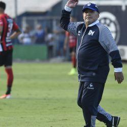 Gimnasia se enfrentó a Patronato en La Plata.
