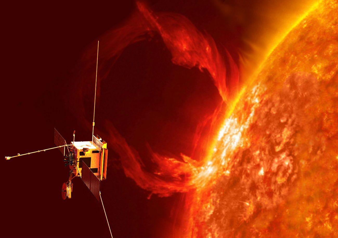 La misión tomará las primeras imágenes de los polos norte y sur del Sol