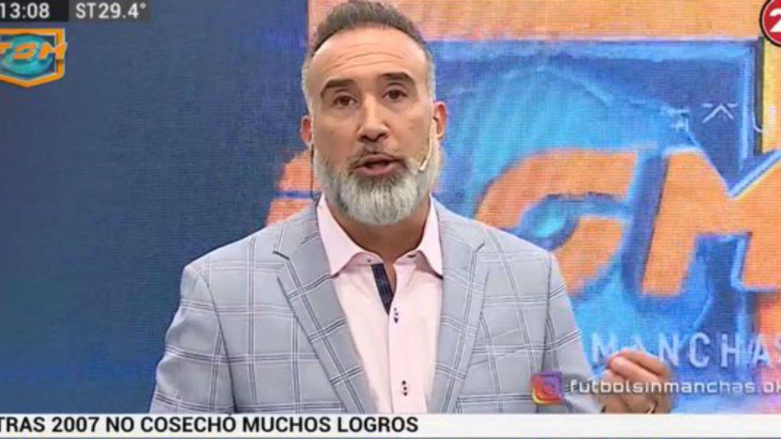 Un periodista vinculó a Angelici con los allanamientos en Boca