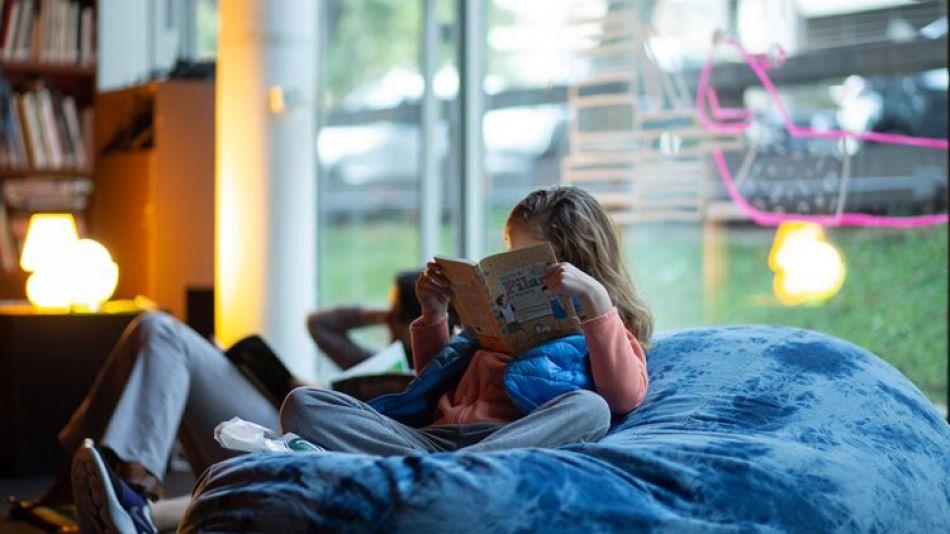 Lectura en el MALBA