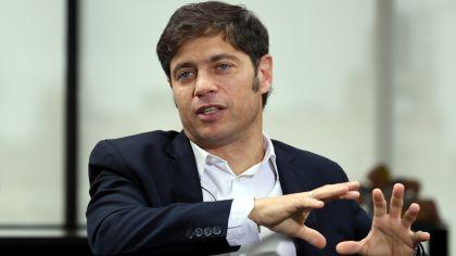Axel Kicillof, en la entrevista con Jorge Fontevecchia.