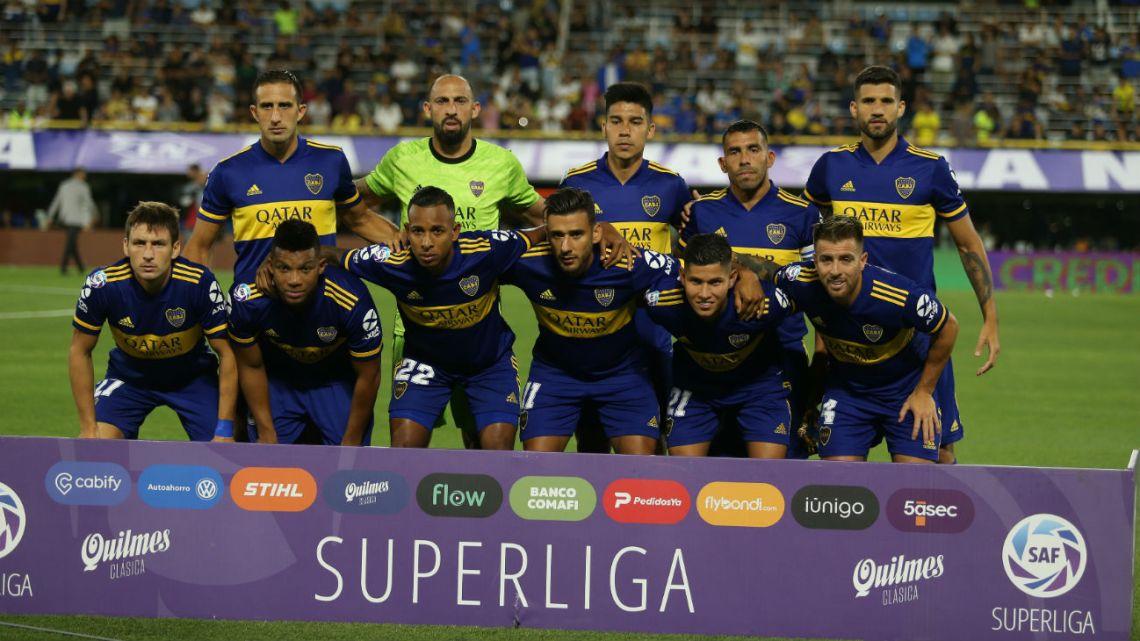 Boca juega bajo protesta ante Godoy Cruz
