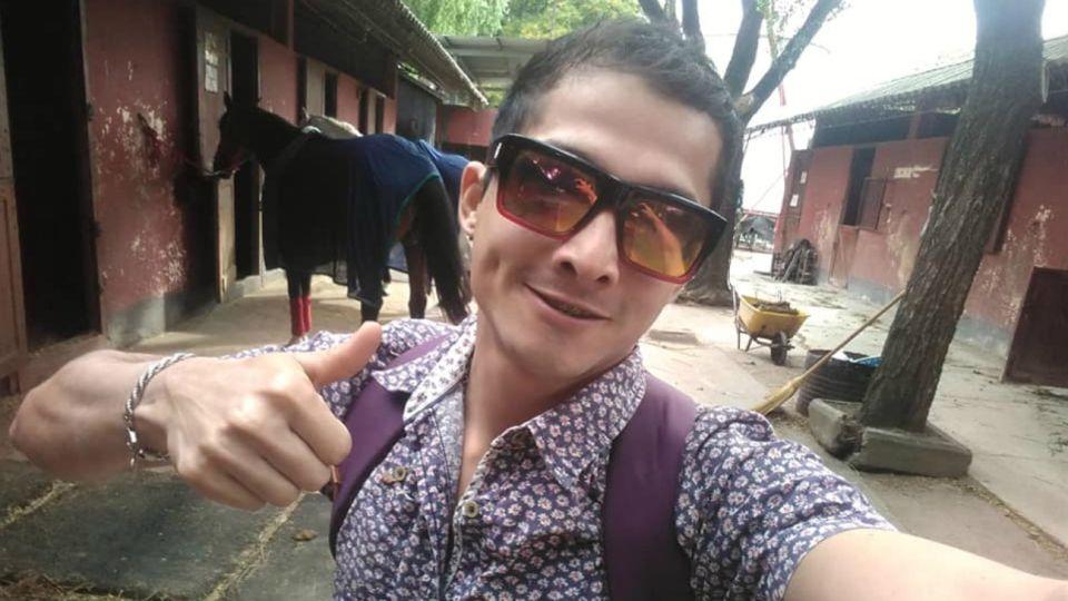 Cristian Moreno Garzón es veterinario colombiano y está en grave estado