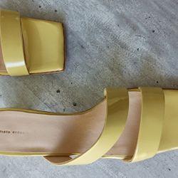 Zapatos de punta cuadrada: la tendencia de la temporada