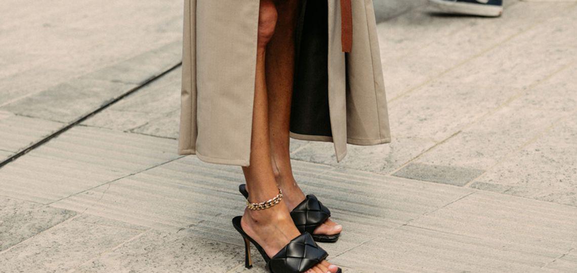 Zapatos con punta cuadrada: una moda que llegó para quedarse