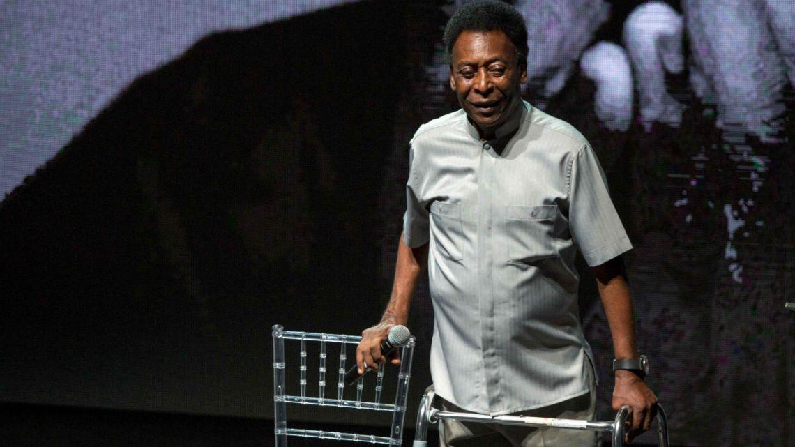 El hijo de Pelé contó que 'O Rei' está deprimido y recluido en su casa