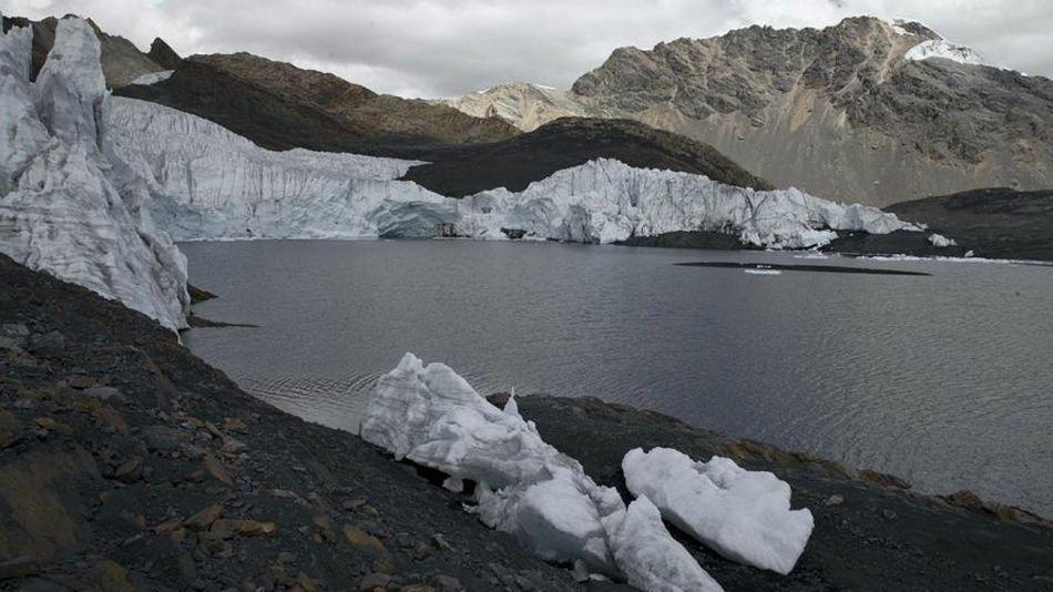 hielos cordillera de los andes