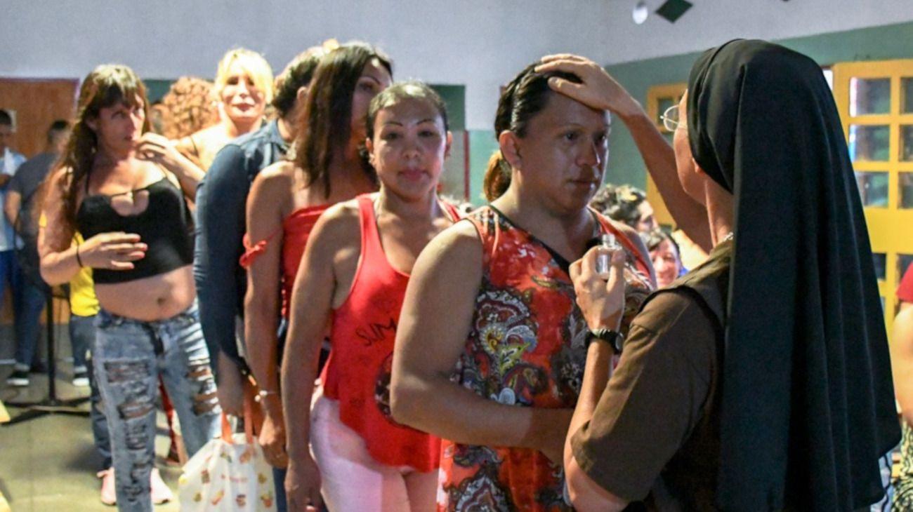 Mónica Astorga visitó la Unidad 32 de Florencio Varela. Hace 14 años creó un refugio para mujeres trans en Neuquén.