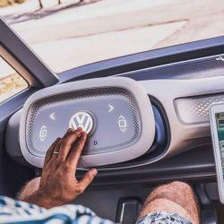 Un volante del futuro desarrollado por Volkswagen.