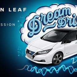 Nissan Leaf Dream Drive arrulla al bebé hasta dormirlo.