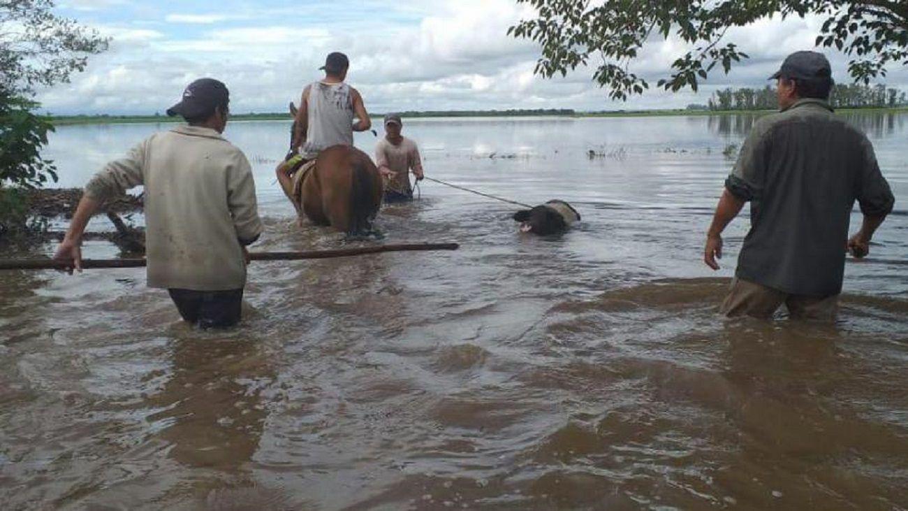 Resultado de imagen de inundaciones chicligasta tucuman