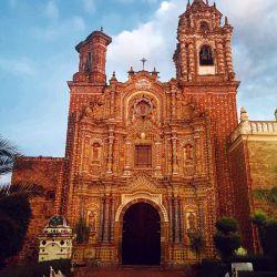Templo San Francisco Acatepec, en San Andrés Cholula.