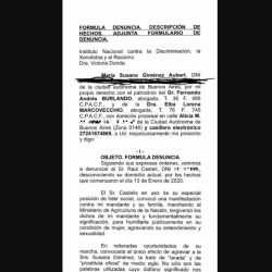 Susana Gimenez -Raul Castells-denuncia
