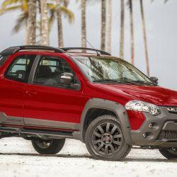 Así es la Fiat Strada Adventure que se comercializa actualmente en el mercado local.