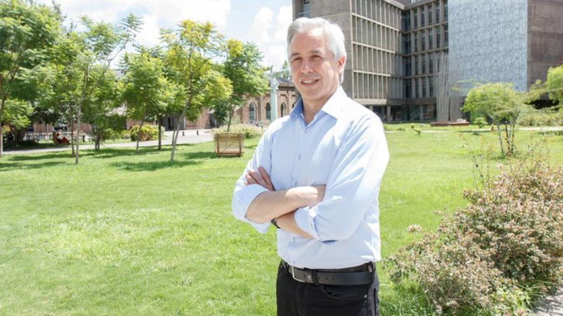 Álvaro García Linera en la UNSAM.    Foto:Cedoc.