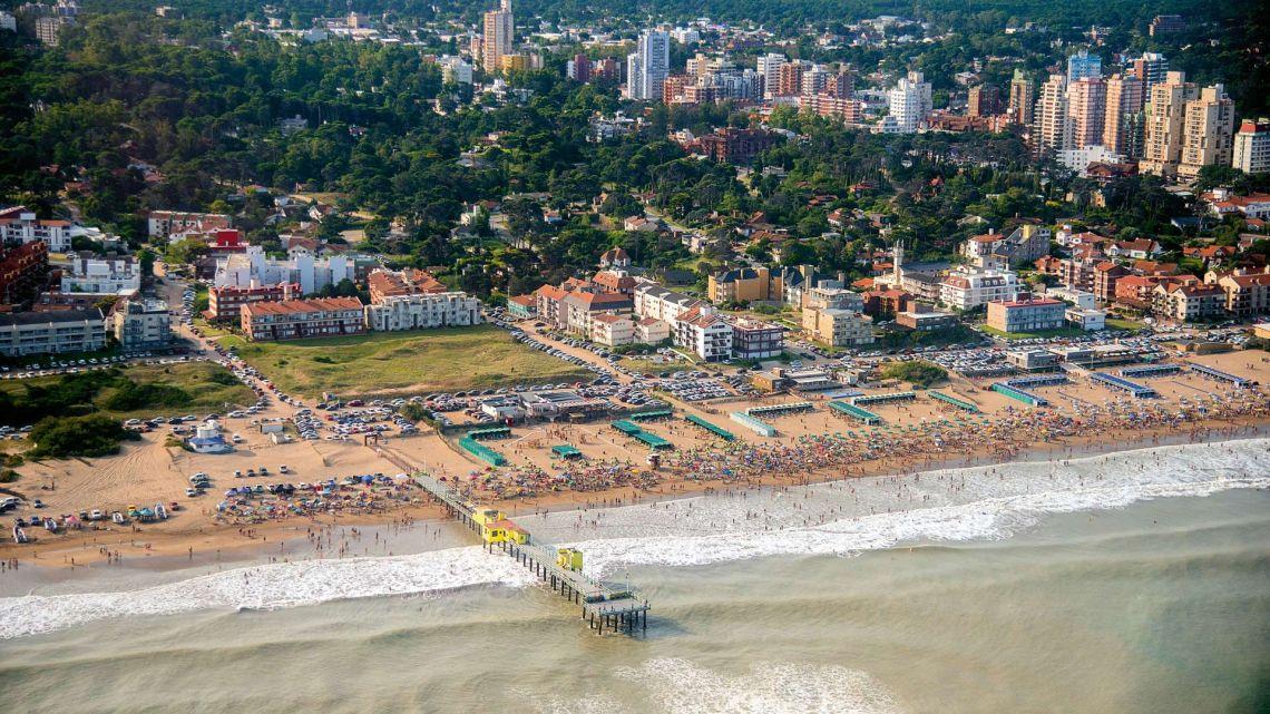 Playa de Pinamar | Foto:Mario De Fina