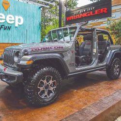 Una de las características de este Jeep es que se lo puede desarmar casi todo.