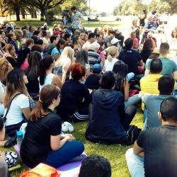 El Brujito Maya estuvo con Ismael Cala Meditando por la Paz