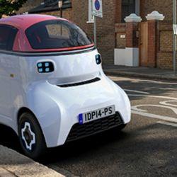El Motiv es un pequeño vehículo eléctrico autónomo de una plaza.