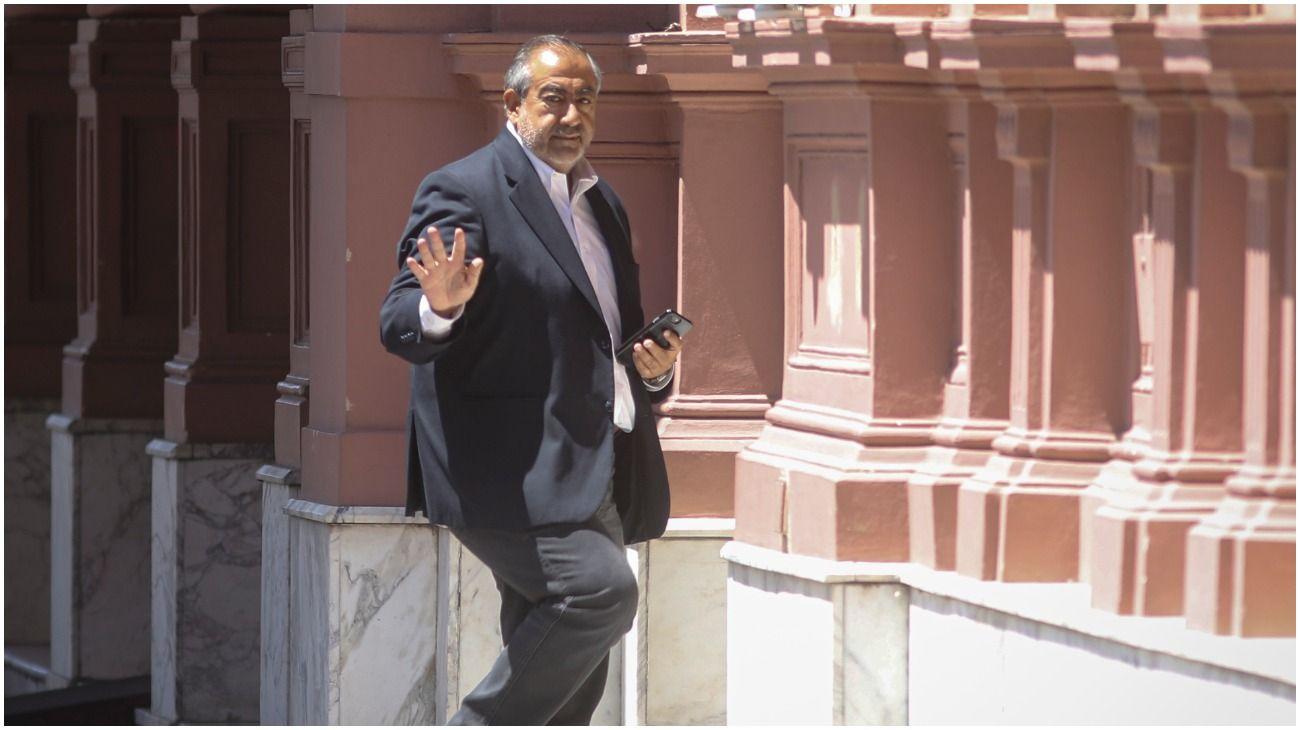 Héctor Daer almorzó con Alberto Fernández en Casa Rosada.