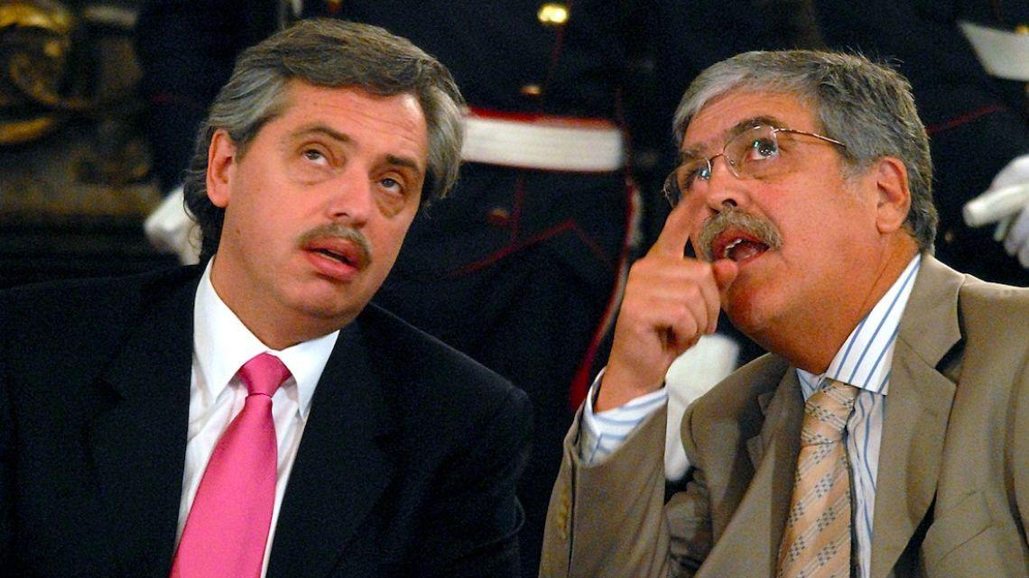 Julio de Vido y Alberto Fernández | Foto:Cedoc