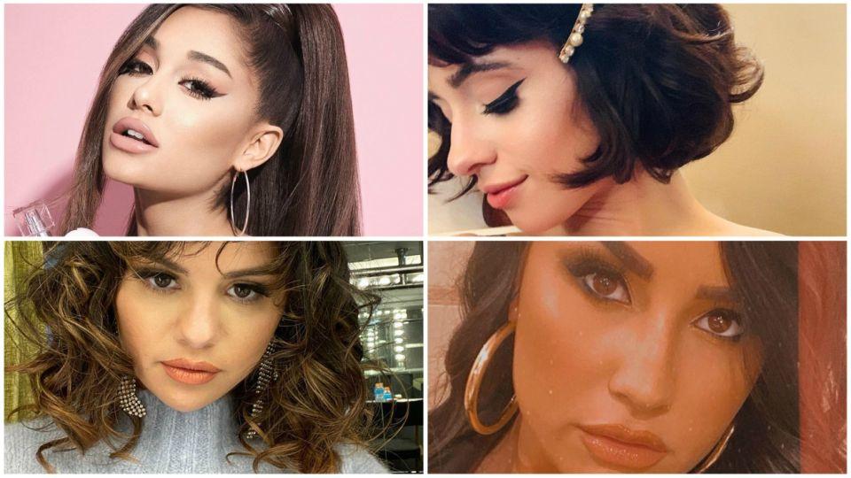 Ariana Grande, Selena Gómez, Demi Lovato y Camila Cabello