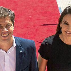 Axel Kicillof y Soledad Quereilhac. | Foto:CEDOC.