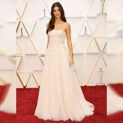 Camila Morrone en los Oscar.  | Foto:AFP