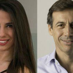 Cinthia Fernández y Luis Naidenoff