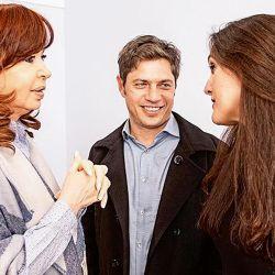 Con Cristina, en la previa de la asunción de Kicillof. | Foto:CEDOC.