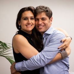Soledad Quereilhac y Axel Kicillof. | Foto:CEDOC.