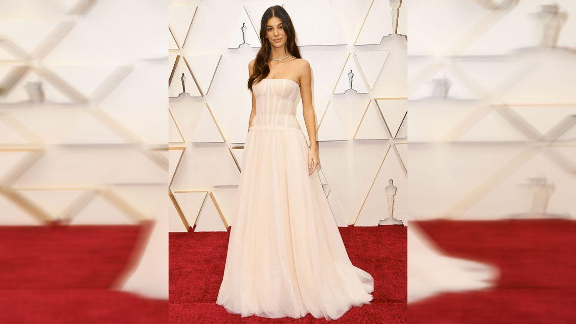Camila Morrone en los Oscar.    Foto:AFP