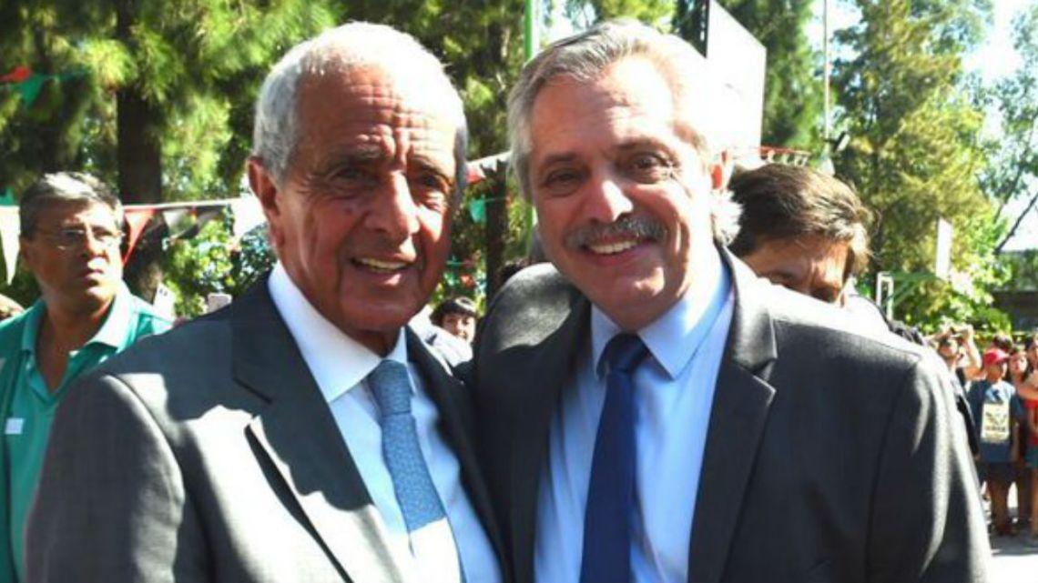 D'Onofrio se mostró con Alberto Fernández en un acto público