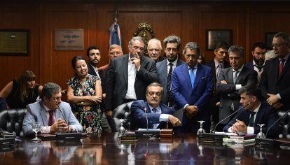Lugones, nuevo titular del Consejo de la Magistratura.