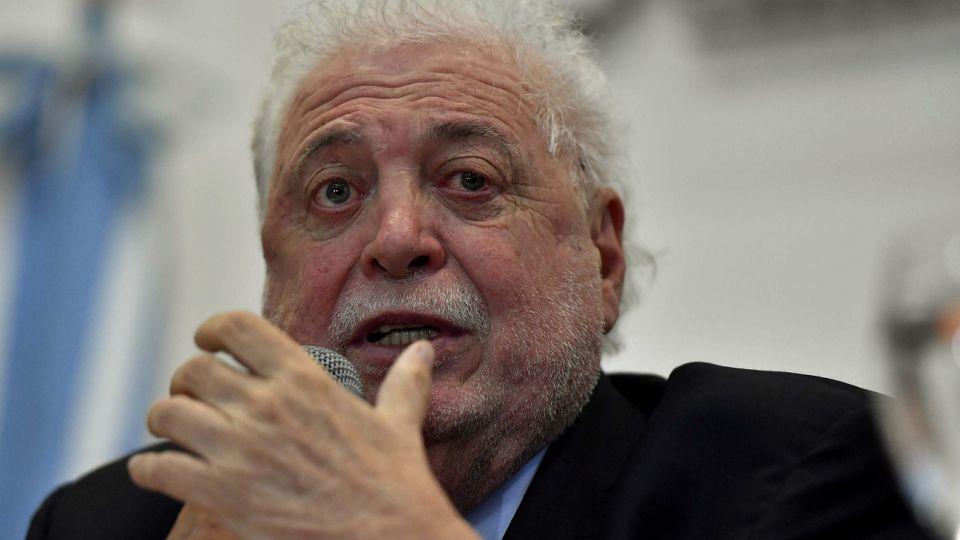 Ginés González García, ministro de Salud de la Nación.