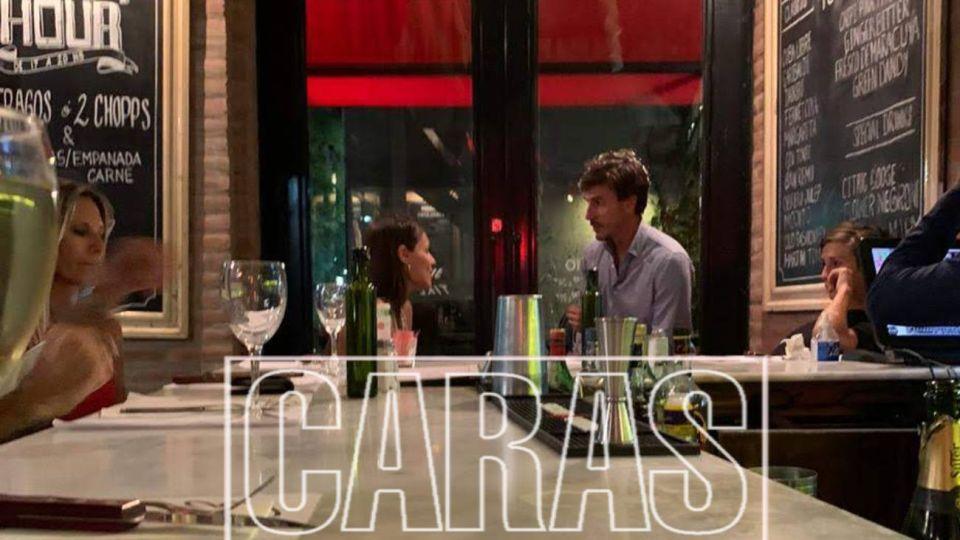 Pampita volvió a Buenos Aires y festejó San Valentín con García Moritán