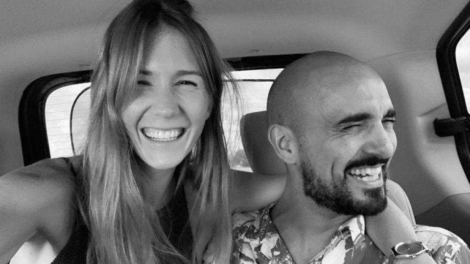 Ya no se oculta:el primer mensaje de amor de Abel Pintos a su novia