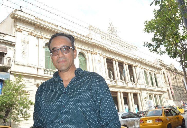 HADRIAN AVILA ARZUZA. El maestro colombiano estará al frente de la programación del teatro que lo vio crecer.