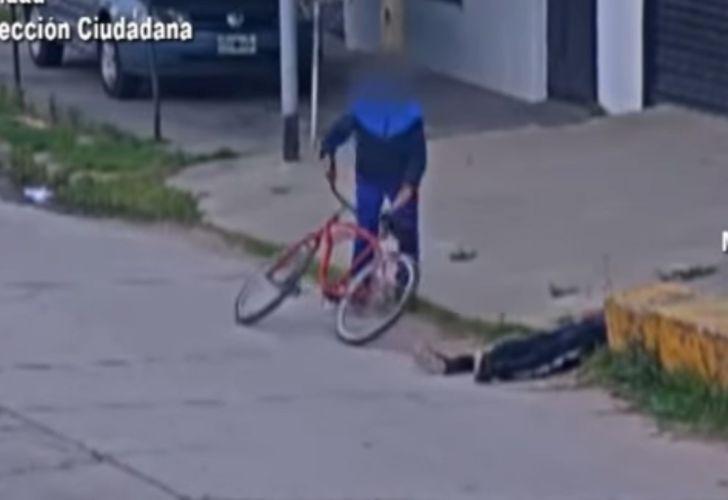 Robo bicicleta 150220