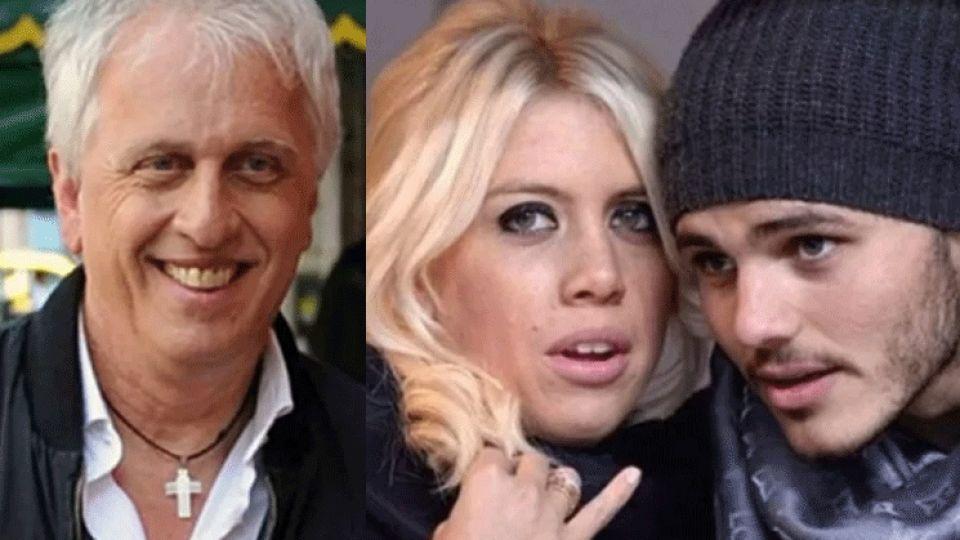 """Andrés Nara puso en duda el matrimonio de Wanda con Icardi: """"Siempre hay interés por la plata"""""""