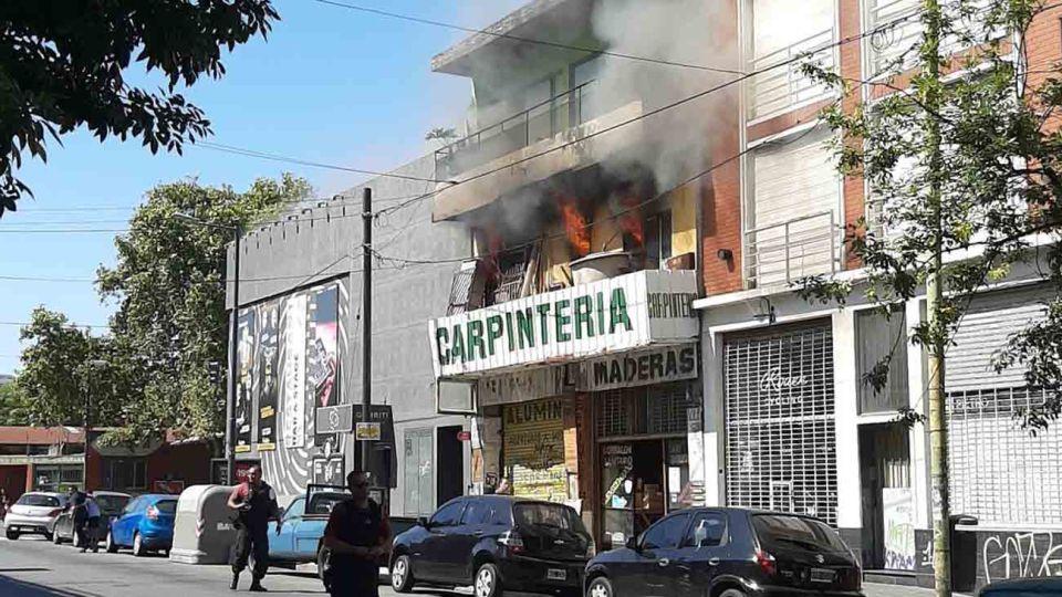Incendio Palermo 150220